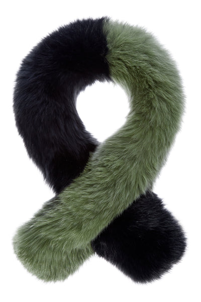 Polly Pop Faux Fur Scarf