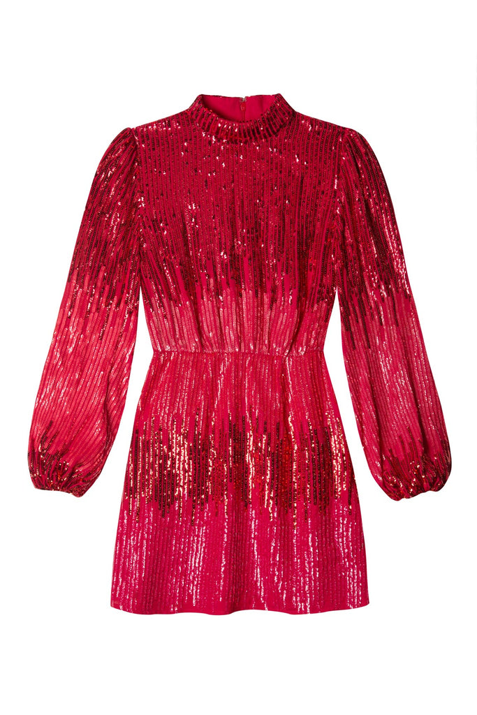 Samantha Ombre Sequin Mini Dress