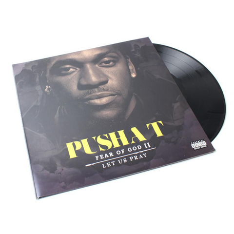 Pusha T - Fear Of God II: Let Us Pray 2LP