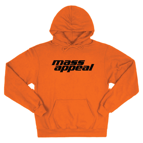 Orange Mass Appeal Hoodie