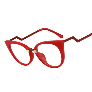 Metal Temple Cat Eye Glasses - Aola Brand