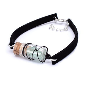 Crystal In Jar Bracelet - Aola Brand