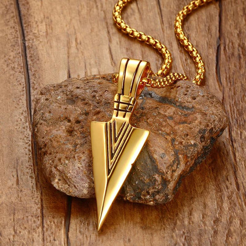 Spearhead Arrowhead Necklace - Aola Brand