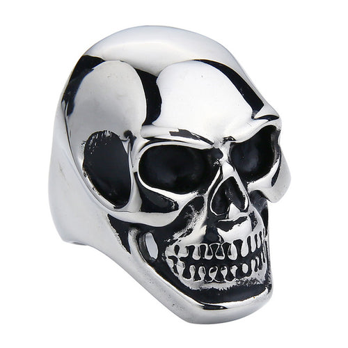 Stainless Steel Skull Ring - Aola Brand