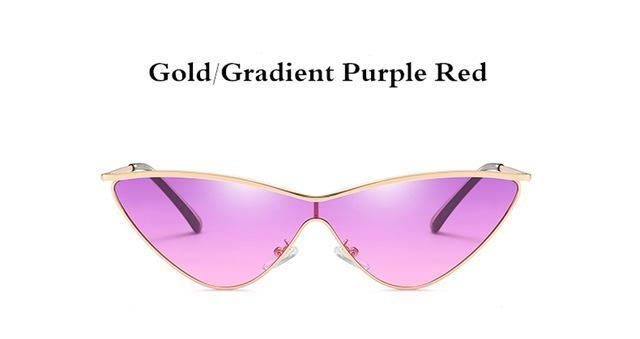 Gradient Cat Eye Sunglasses - Aola Brand