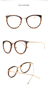 Oversized Retro Cat Eye Glasses - Aola Brand
