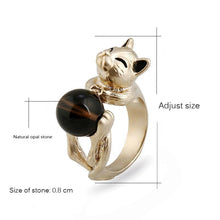 Vintage Cat Ring - Aola Brand