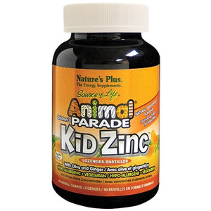 Nature's Plus Animal Parade Kid Zinc Tangerine Lozenges