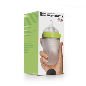 Comotomo Natural Medium Flow 3+ Month Nipper Bottle (Single)-250ml
