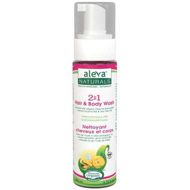 Aleva Naturals 2 in 1 Hair & Body Wash