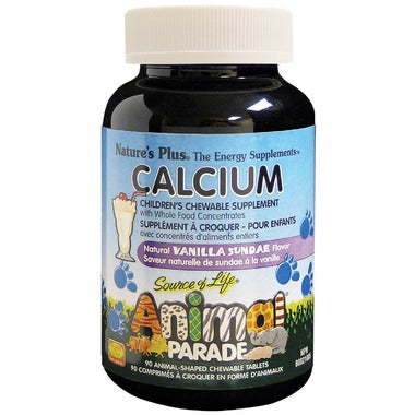 Nature's Plus Animal Parade Children's Chewable Calcium