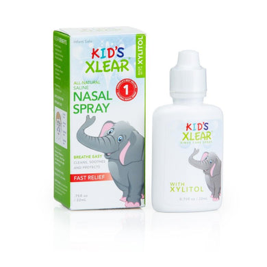 Xlear Kid's Xylitol and Saline Nasal Spray For 0+