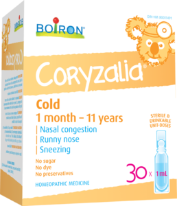 Boiron Coryzalia Cold 1 month - 11 years