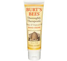Burt's Bee Thoroughly Therapeutic Honey & Grapeseed Oil Hand Creme