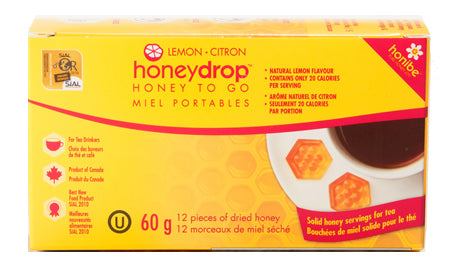 honibe Honey Drops™ with Lemon