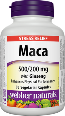 Maca with Ginseng 500 mg