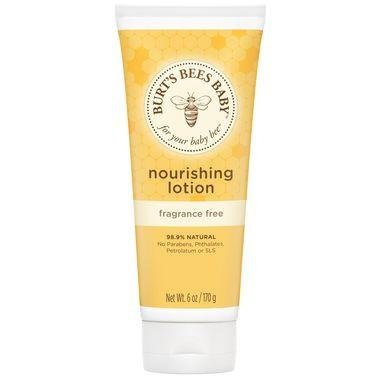 Burt's Bee - Baby Bee Nourishing Lotion - Fragrance Free