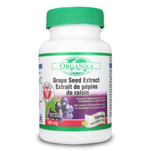 Organika GRAPE SEED EXTRACT (HI POTENCY 95 % OPC) 100mg (2 Size Available)