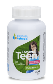 Platinum Easymulti Teen for Young Women, 120 Softgels