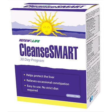Renew Life CleanseSMART Advanced Total Body Cleansing System