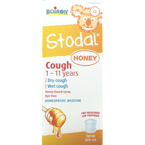 Boiron Stodal Cough Syrup Honey Children