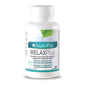 Nutripur RelaxPlus With Passionflower 60 Capsules