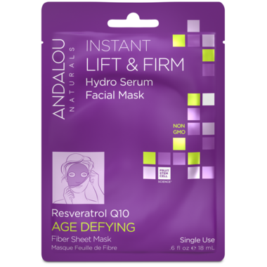 ANDALOU naturals Age Defying Instant Lift & Firm Facial Sheet Mask