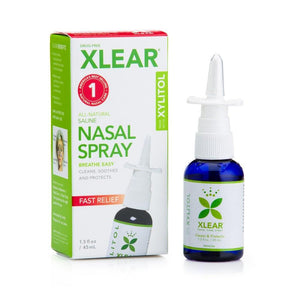 Xlear Xylitol and Saline Nasal Spray For 0+, 1.5fl oz Measured Pump