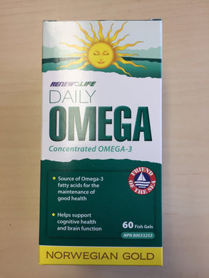 Renew Life Norwegian Gold Daily Omega