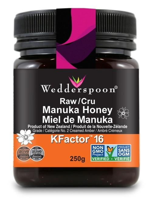 Wedderspoon RAW PREMIUM MANUKA HONEY KFACTOR 16
