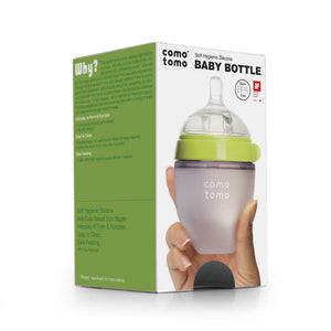 Comotomo Natural Slow Flow 0-3 Month Nipper Bottle (Single)-150ml