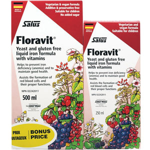 Salus Floravit Shrink (Yeast Free) For All People Including Pregnant Women, 500ml + 250ml