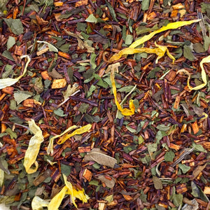 Grand River Tea Chocolate Mint Rooibos Loose Leaf Tea Pyramids