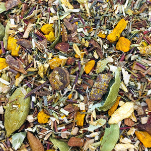Grand River Chai Rooibos proprietary blend loose leaf tea ginger turmeric cinnamon cardamom