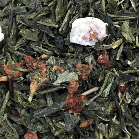 grand-river-tea - Organic Strawberry Loose Leaf Green- 50g - Grand River Tea - Green Tea