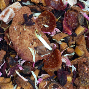 grand-river-tea - Strawberry Cocoa Fruit Loose Leaf Tea- 100G - Grand River Tea - Herbal