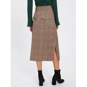 A-Line Skirt High Waist Full Size