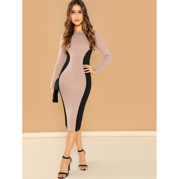 Elegant Bodycon Pencil Dress