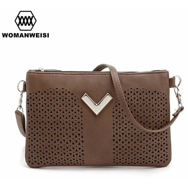 2017 Hot Sale Classic Vintage Style Envelope Women Clutch Hollow Out Fashion Brand Women Crossbody Shoulder Bags Female Kabelky