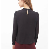 Office Classic Long Sleeve Blouse