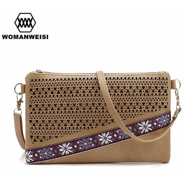 New Arrival Leather Handbags Fashion Shoulder Bags PU Leather Small Flower Women s  Cross Body Bags Brand ... 7c68bb86b8