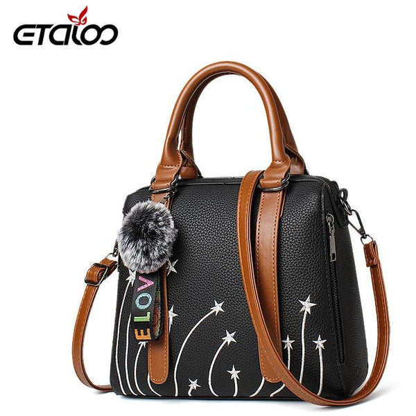 4e94b71e314 Women's bag 2018 new bag female sweet ladies fashion handbags Messenger  shoulder ...