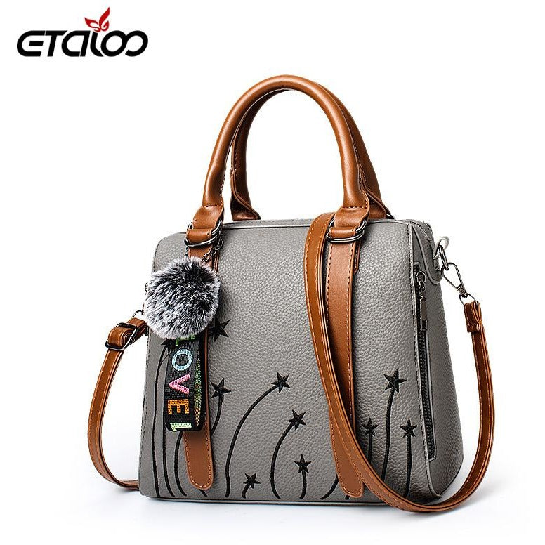 0762226a2c Women s bag 2018 new bag female sweet ladies fashion handbags Messenger  shoulder bag