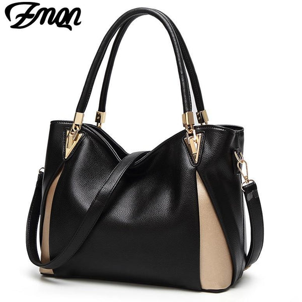 ZMQN Bags For Women 2018 Luxury Handbags Women Bags Designer Shoulder Bag Casual Tote PU Leather Handbags Kabelky Soild Bag A862