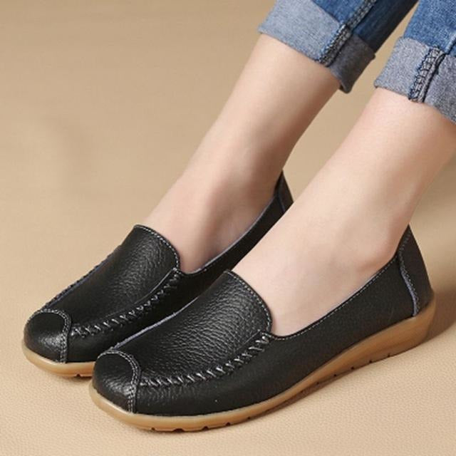 Casual soft soles comfortable flat walking shoes
