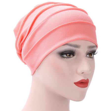 5ee9a94f0e75c Floral Bow Designer Hat 103 · Jewish girl Winter Warm Hat Double warm front  towel cap Women India Hat Muslim Ruffle Chemo Hat Beanie Scarf Turban Head  Wrap ...