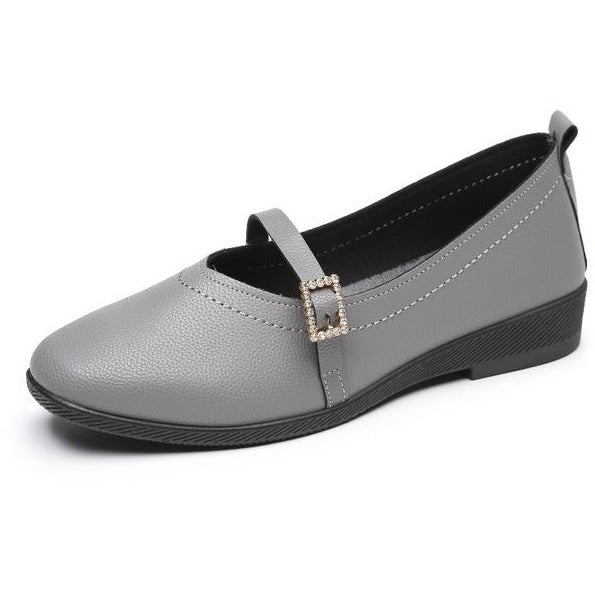 Black Casual Comfortable  Soft Flats Shoes