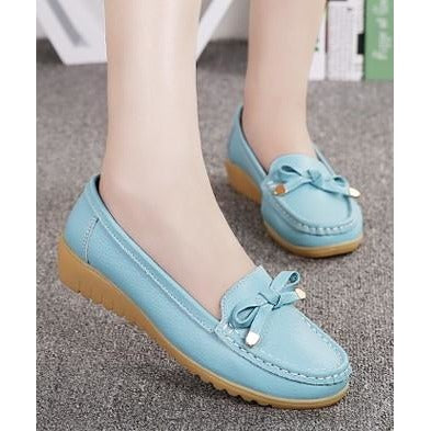 Casual Size flat Nurse Comfortable Flat Shoes