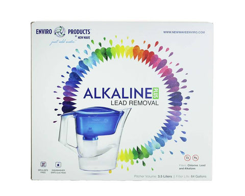 New Wave Alkaline Water Filter Pitcher Plus Lead Removal
