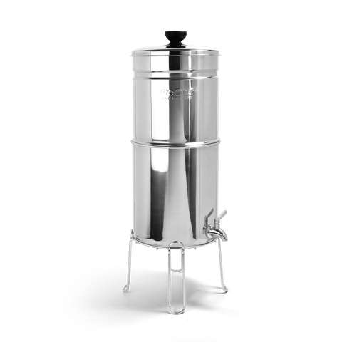 "ProOne Big+ Gravity Water Filter with 2 7"" G2.0 Filter Elements"